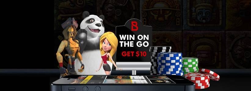 Bovada Mobile Casino Screenshot
