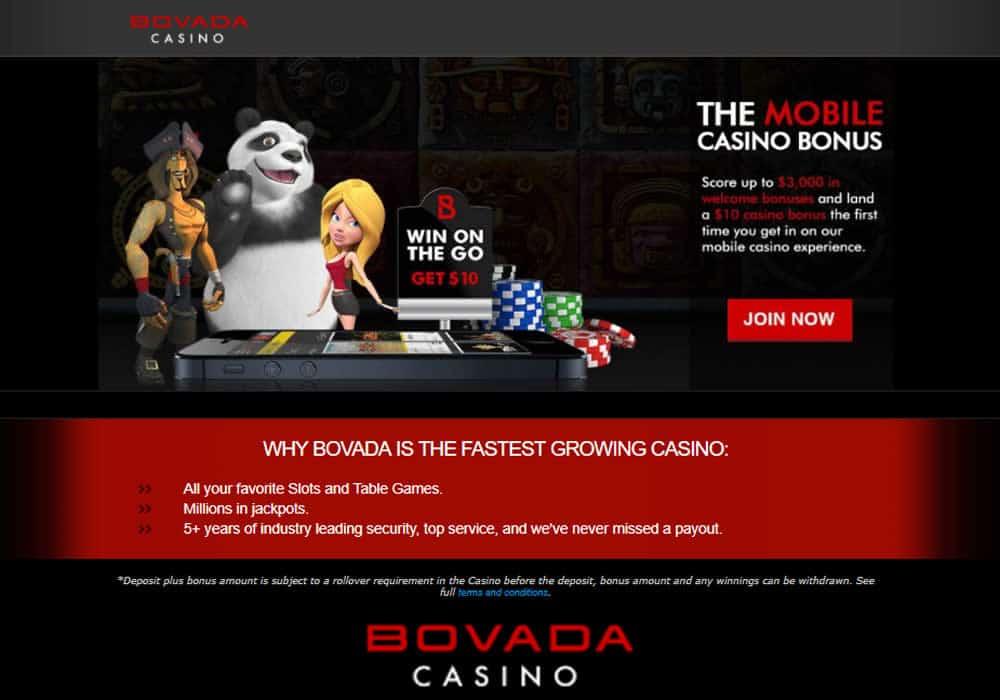 Bovada Mobile Casino