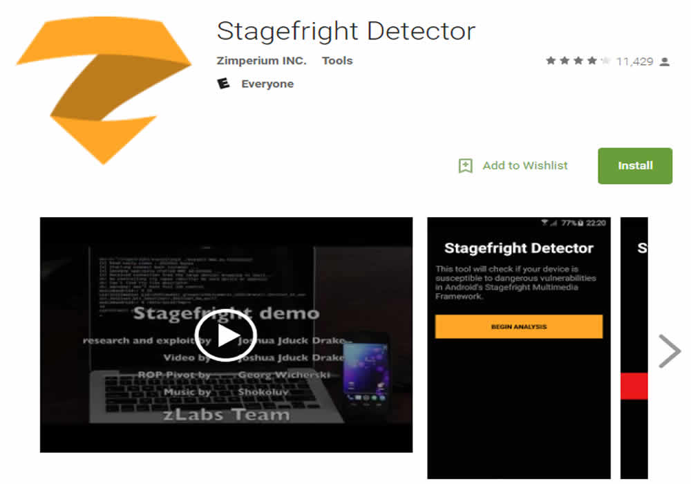 StraightFright Bug Detector