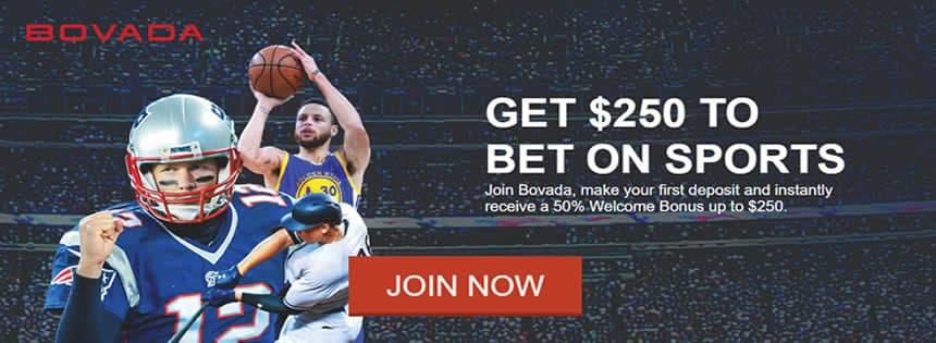 50% Welcome Bonus At Bovada Mobile Sportsbook