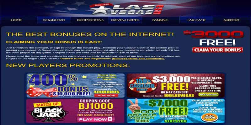 Claim Up To $10,000 Free At Lasvegasusa