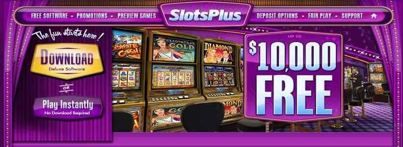 Claim A $10,000 Mobile Casino Bonus At Slots Plus