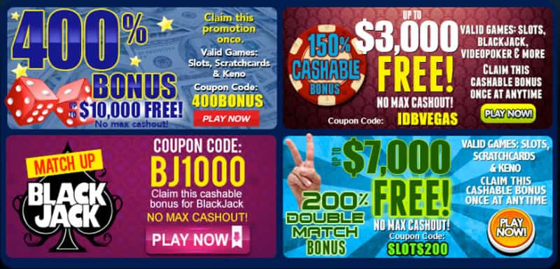Huge Bonuses Available At Vegas Mobile Casino