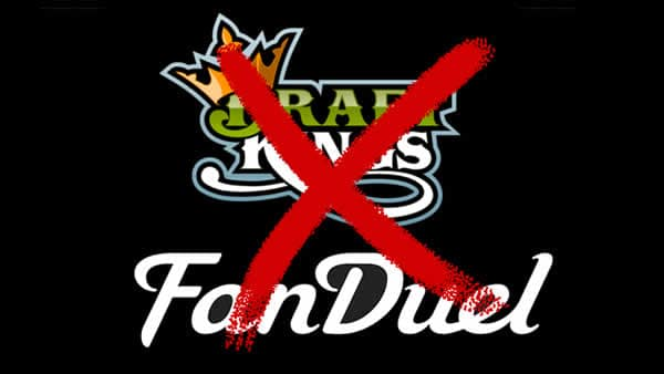 Fan Duel and Draft Kings logos