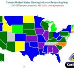map of casino closures and reopenings in the united states from casino city press